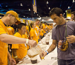 Pouring Beer at GABF