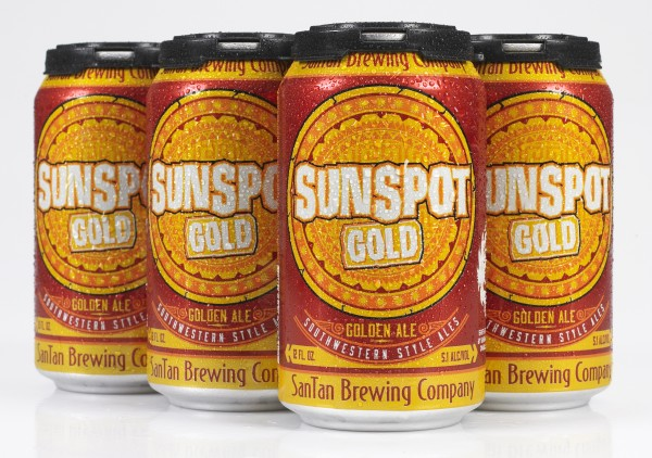 Sunspot Gold angle 6pk wet