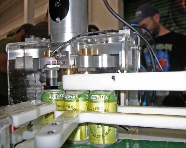 California Dry Hop Lager canning