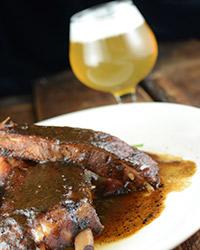 craft beer tailgating ribs
