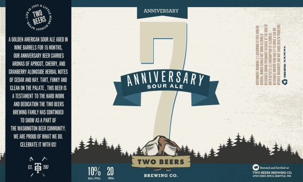 TBB Anniversary Sour Label