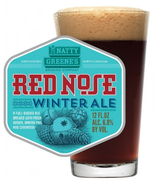 Natty Greene's Brewing Co. presents Red Nose Winter Ale