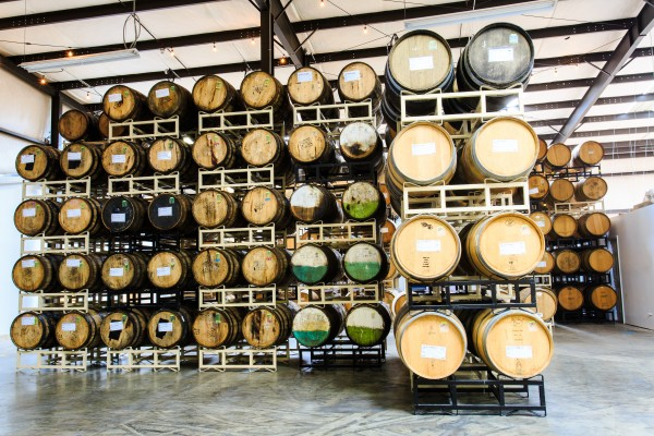 Wicked Weed's sour barrel house and tasting room will be home to 500+ sour barrels