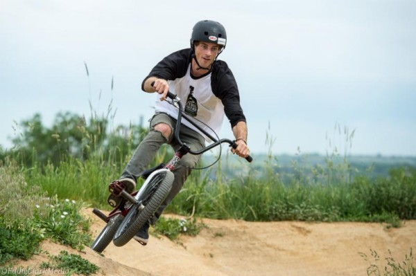 Zak Earley, Oskar Blues REEB rider, will compete  on his REEB BMX bike at Red Bull Dreamline in North Carolina