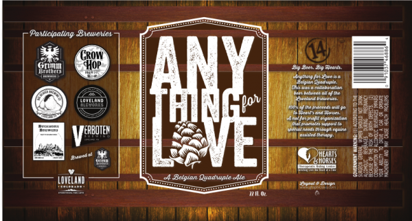 Anything for Love Label