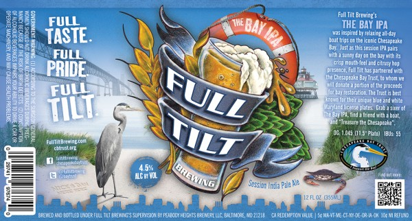 Full Tilt Brewing To Release The Bay Ipa Craftbeer Com