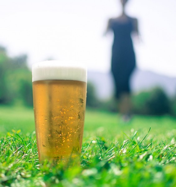 beer belly myth