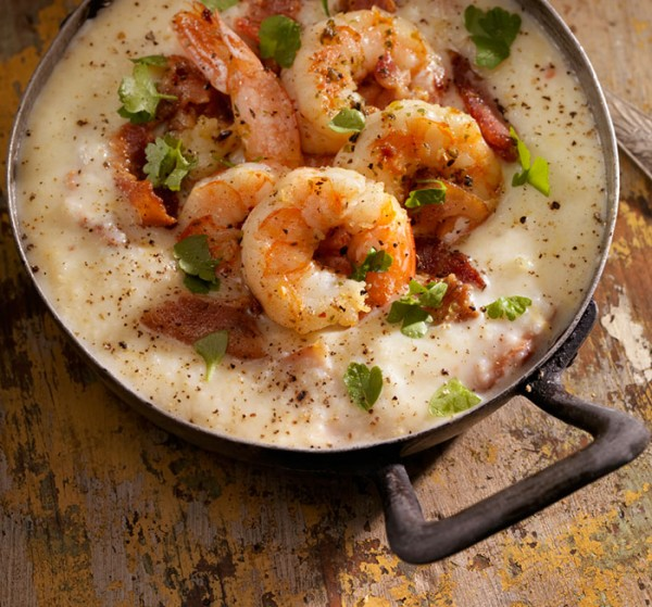 shrimp grits bacon recipe craft beer