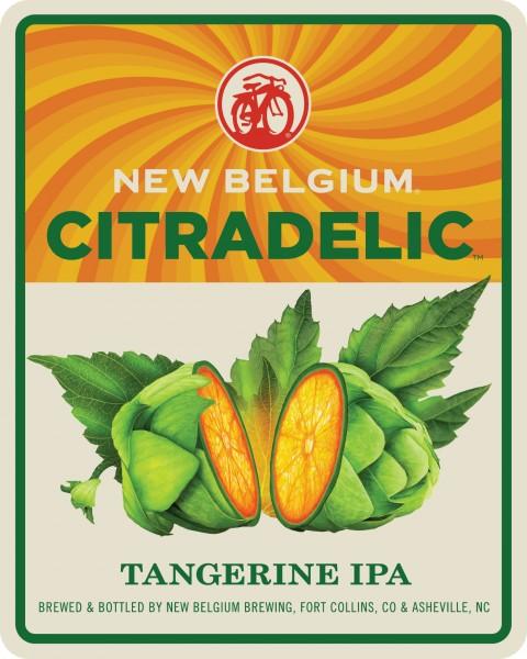 New Belgium Brewery's Citradelic Tangerine IPA Brightens the New ...