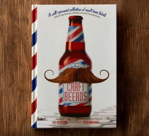 craft beerds hairy beer label book cover
