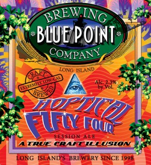 Blue Point Brewery Reveals Improved Hoptical Illusion IPA Recipe ...