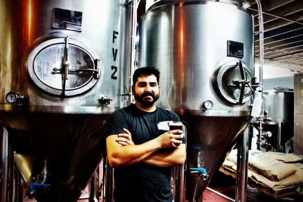 Luis Brignoni, Founder of WBCo at the brewery