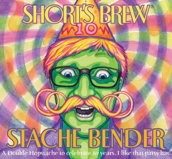 Stache Bender Label Art