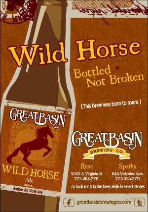Wild Horse Ale Flyer
