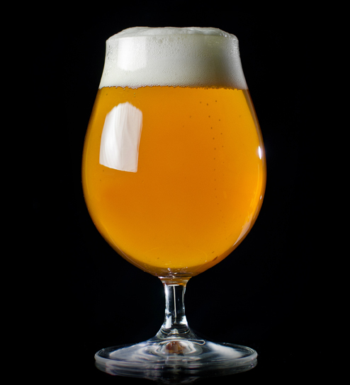 Cradt Beer Rising Glass