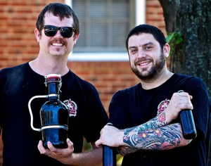 Brandon Skall and Jeff Hancock of DC Brau Beer