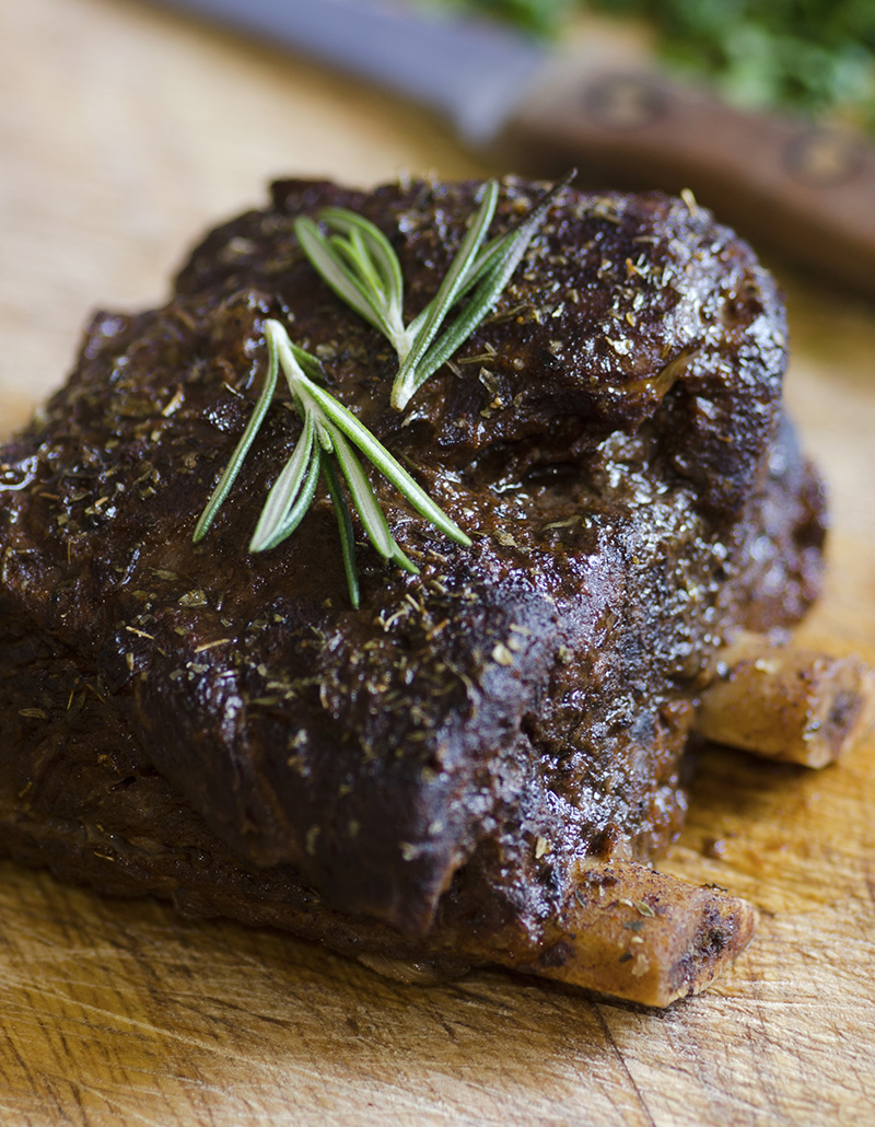 Campfire Stout-Braised Short Ribs