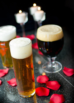Cupid's Guide: Aphrodisiac Recipes & Beer Pairings